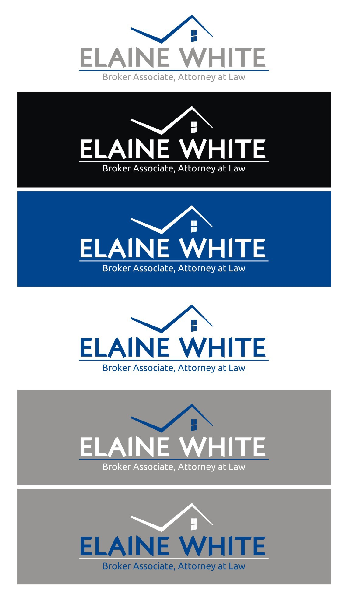 New logo wanted for Elaine White