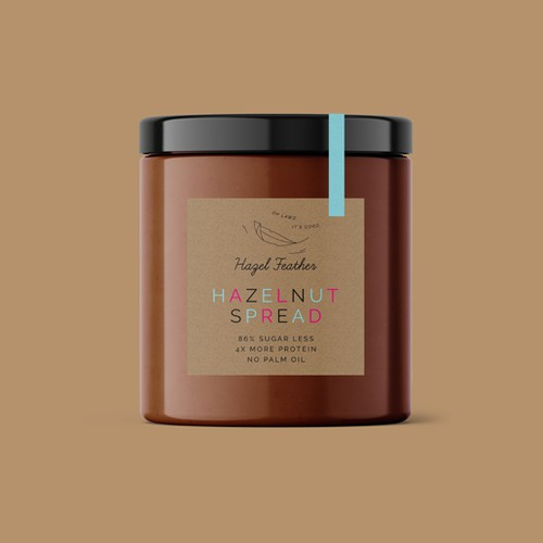 HAZEL FEATHER - HAZELNUT SPREAD