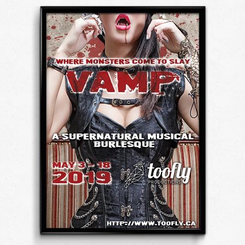 Vamp poster design