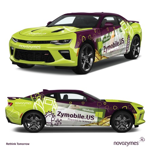 Zymobile car wrap