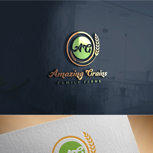Design Amazing Logos for Amazing Grains