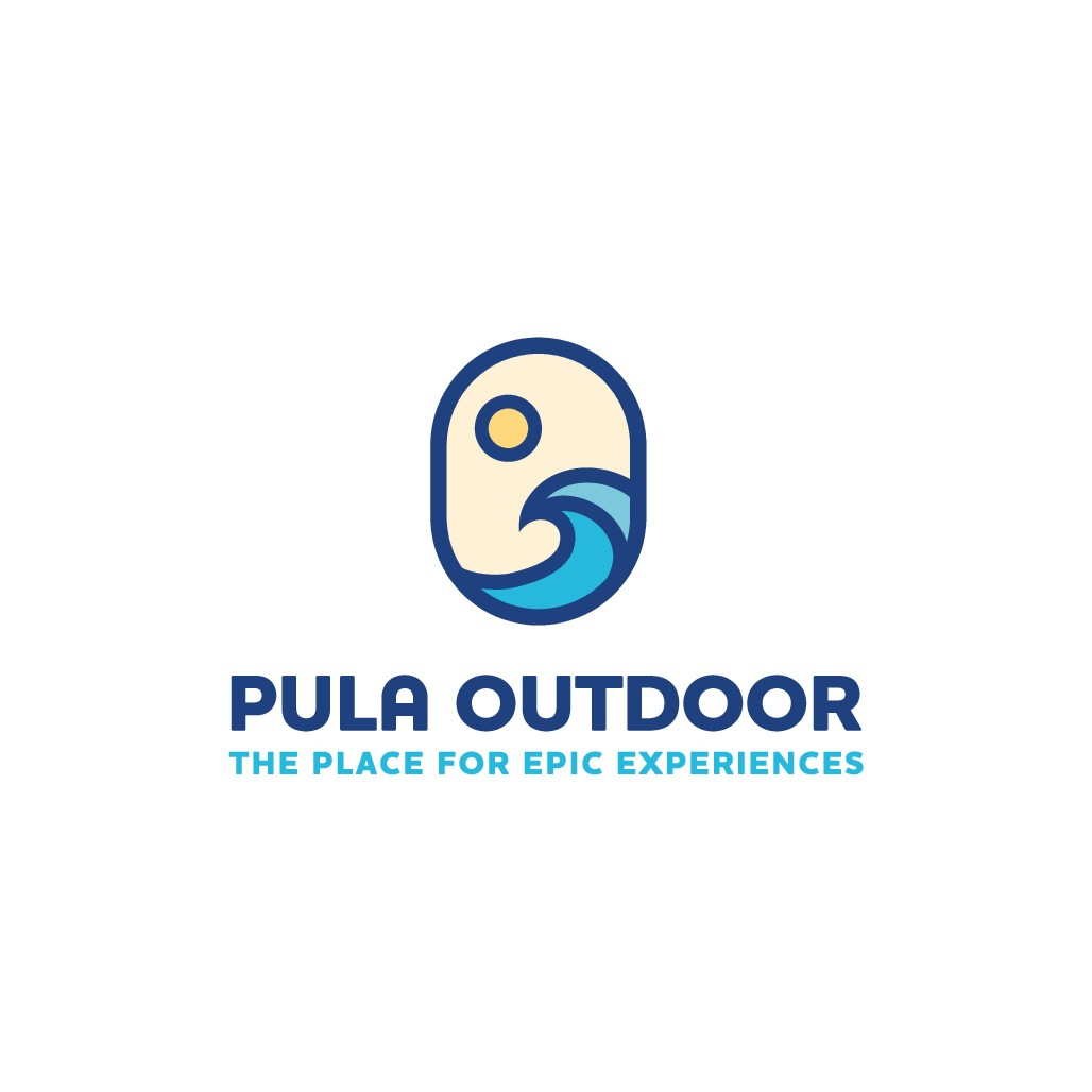 Design a striking logo for Pula Outdoor