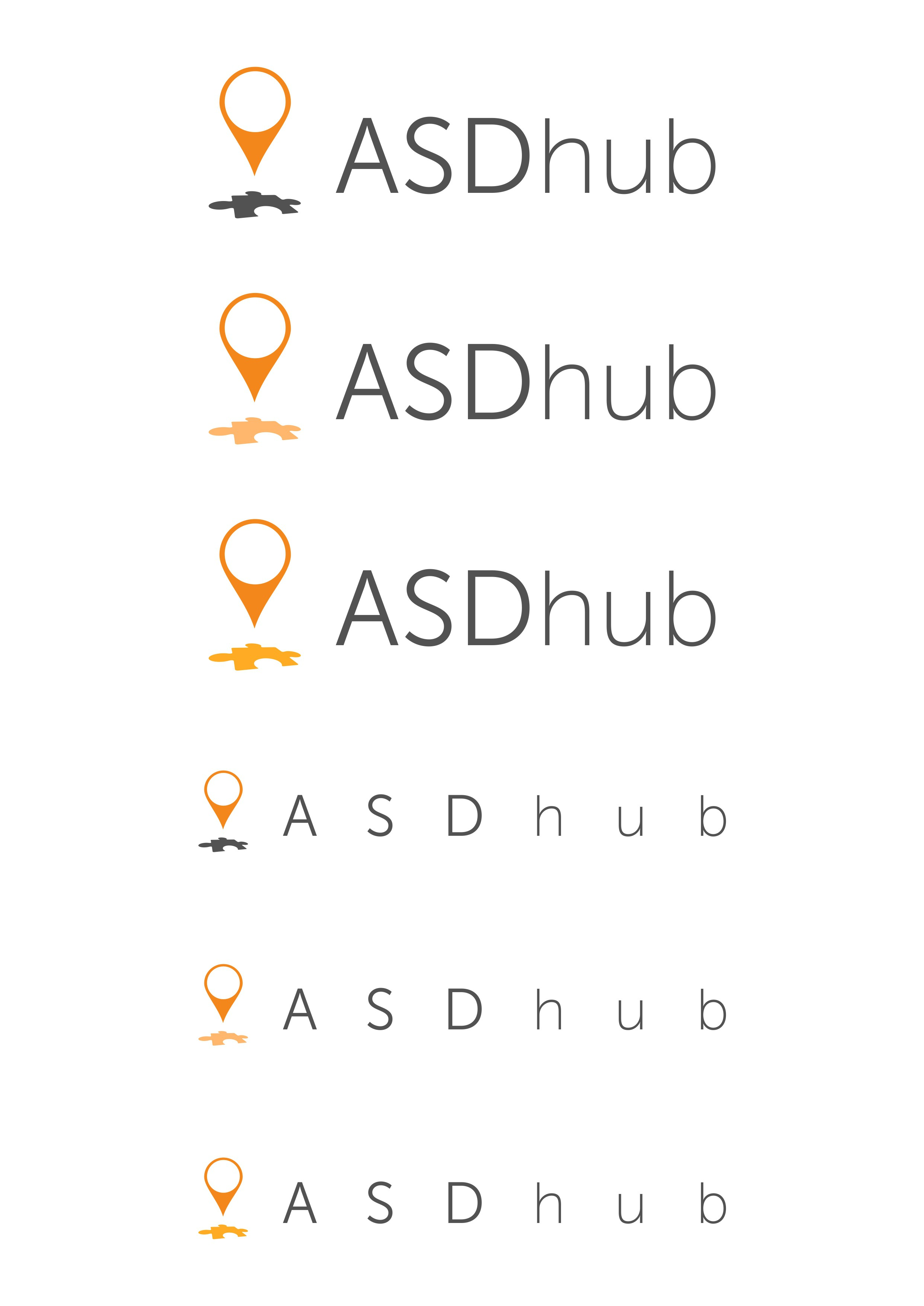 Logo design for autism resource directory