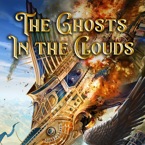 The Ghosts In the Clouds BOOK COVER DESIGN