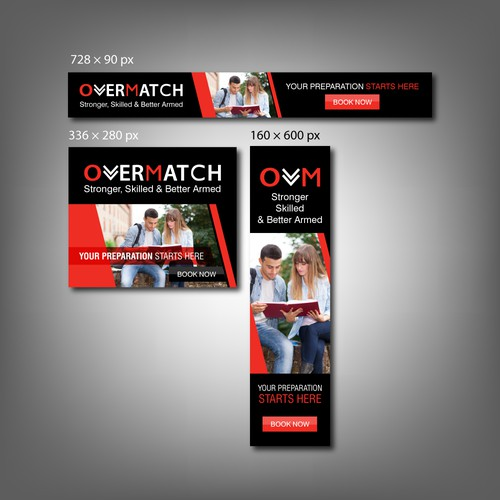 Web Banner for Overmatch