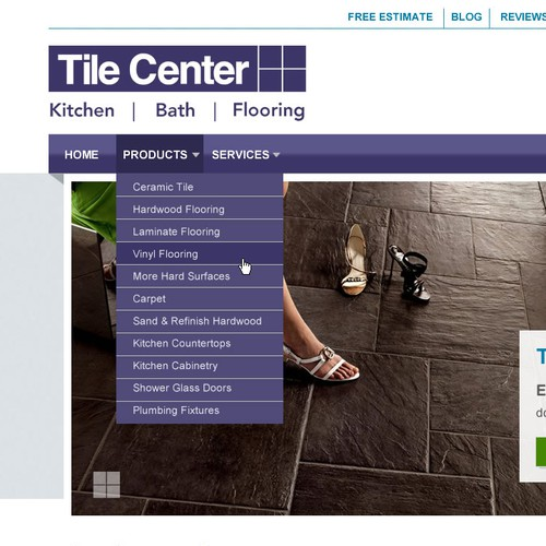 Tile Center Website