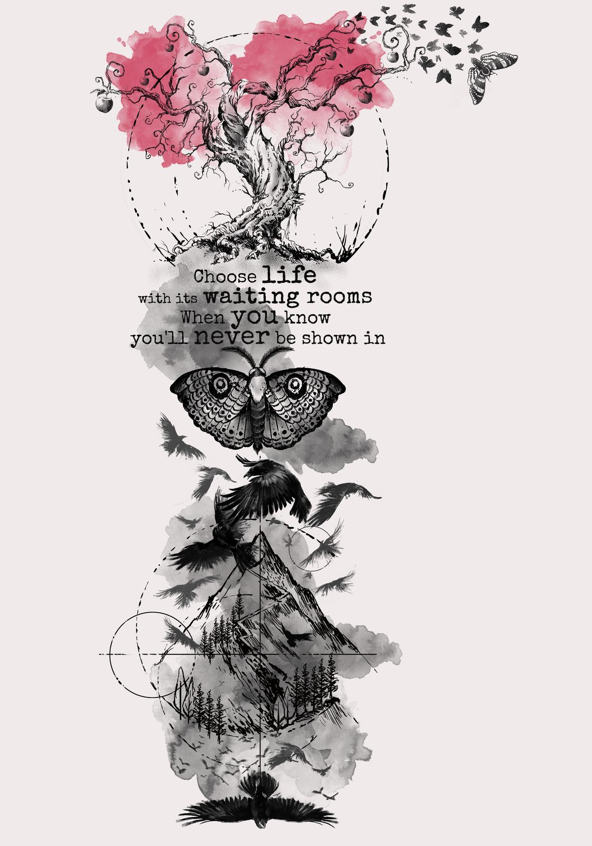 Luke's Tattoo of Poems