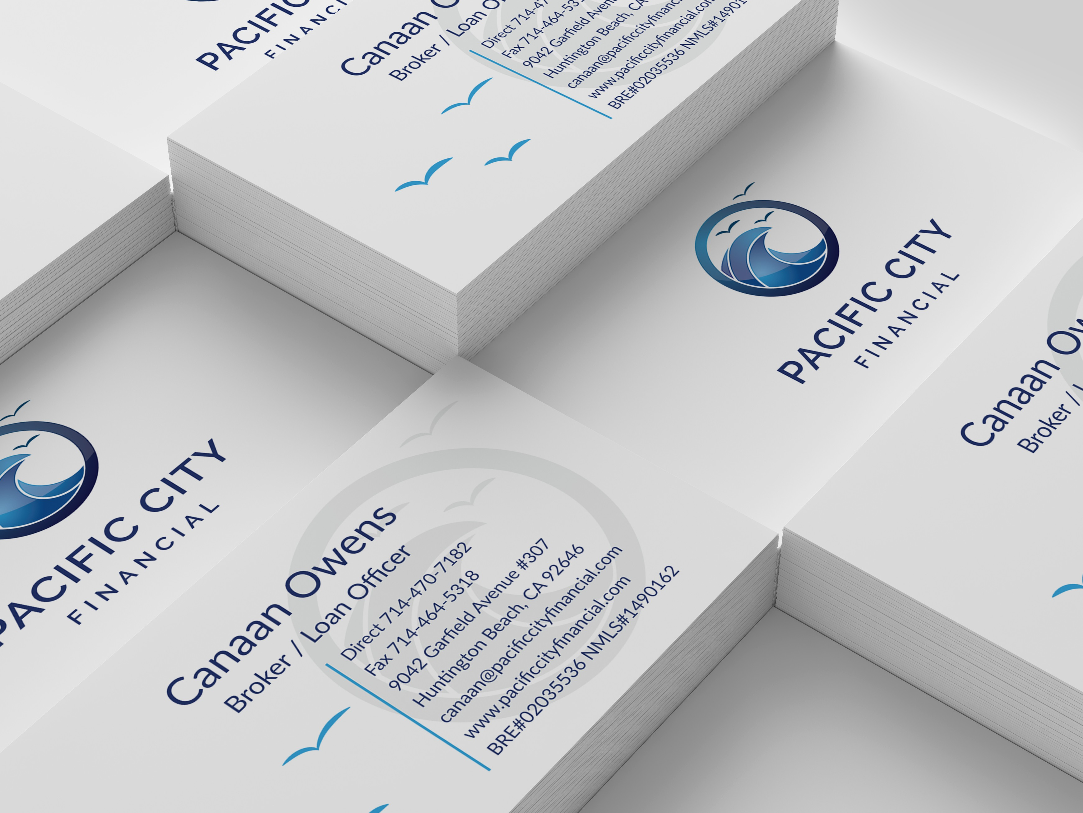 Pacific City Financial Business Card