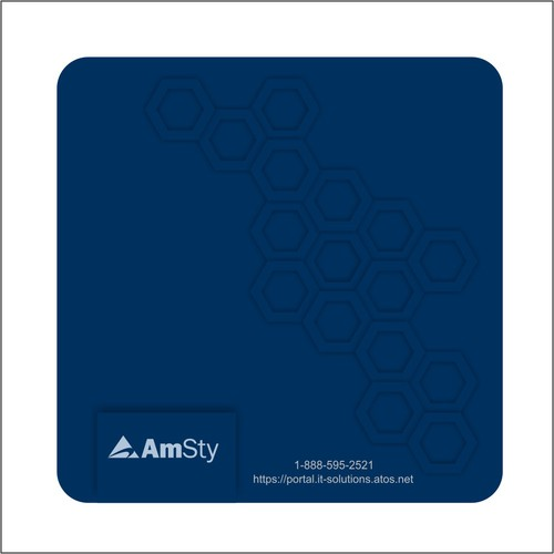 Colorful mouse pad to eliven corporate culture at AmSty