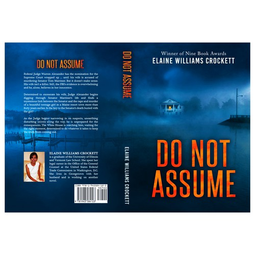 "Book cover for ""Do Not Assume"""