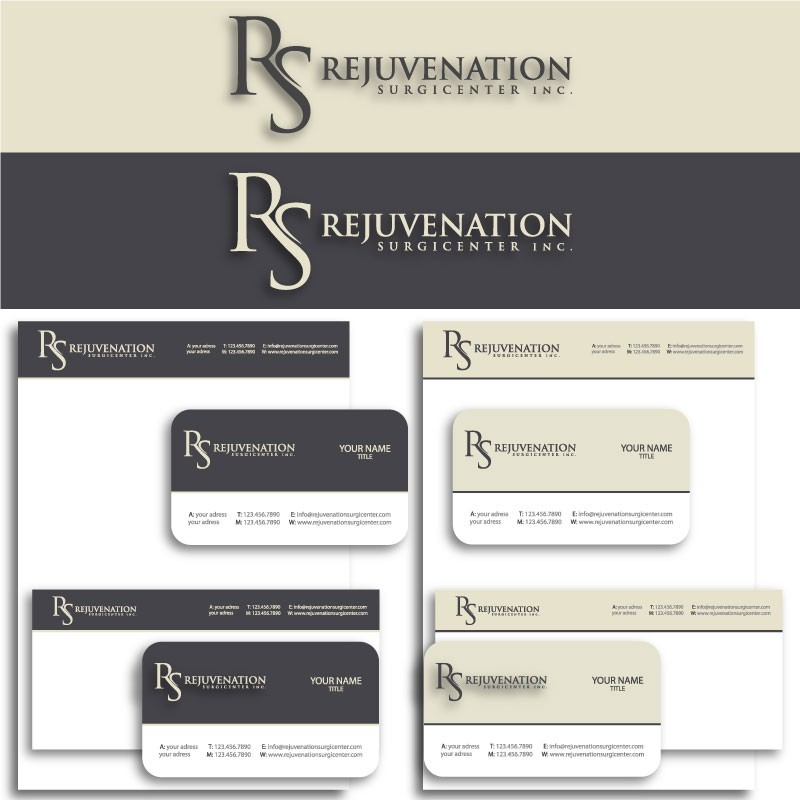 New logo and business card wanted for Rejuvenation Surgicenter