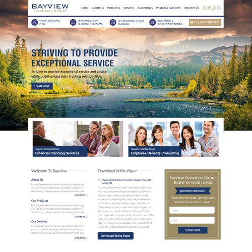 Finance Company Website