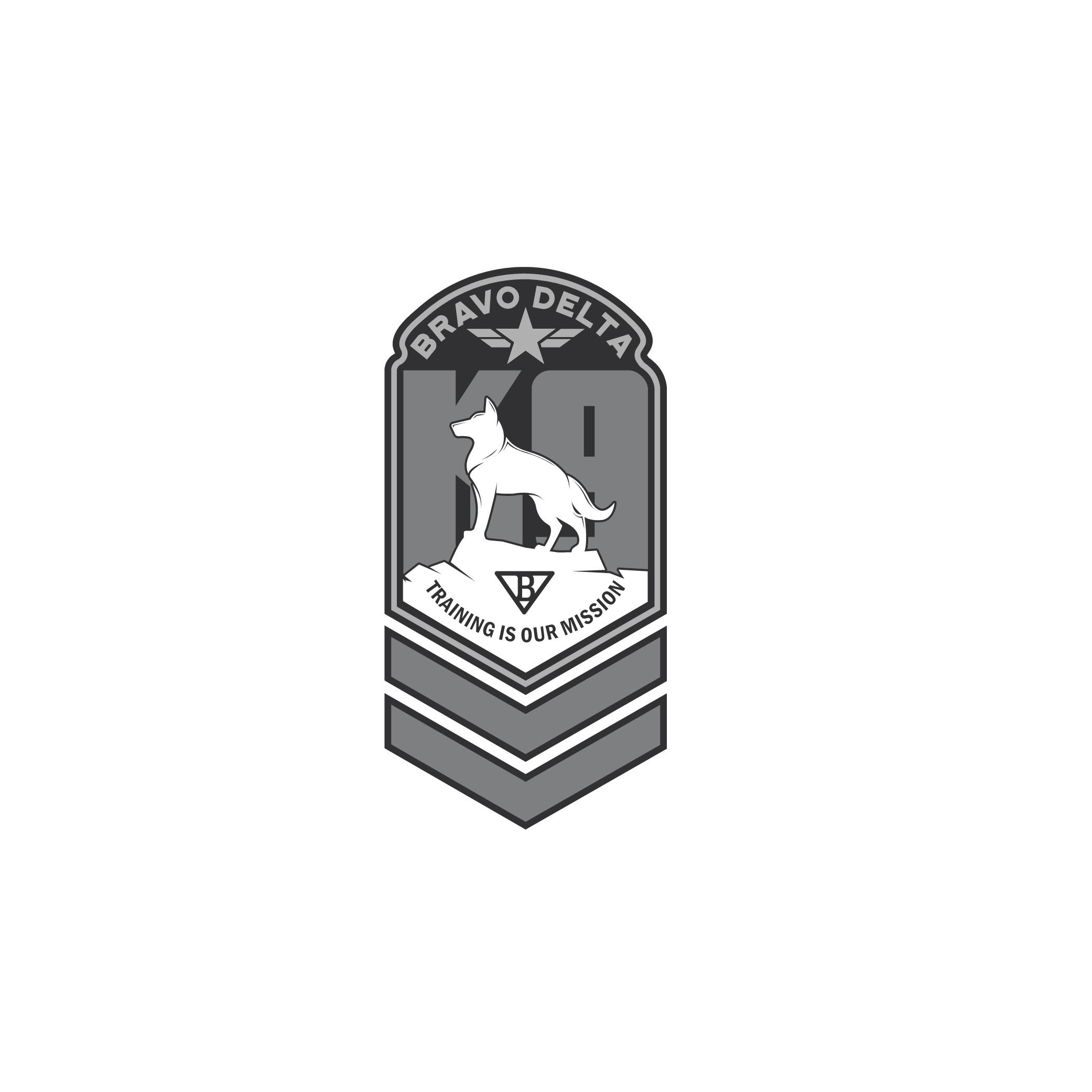 Dog Training Logo for Bravo Delta K9