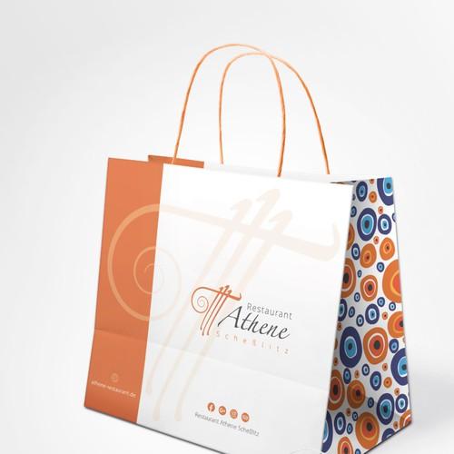 Food bag for a restaurant