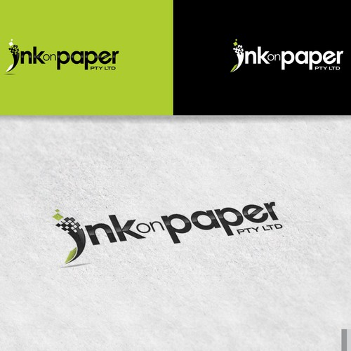 Help INK ON PAPER with a new logo