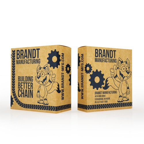 PRODUCT PACKAGING FOR BRANDT