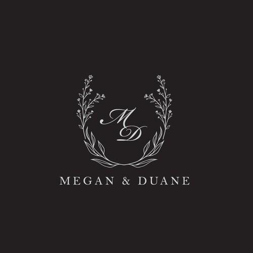 Logo concept for a wedding