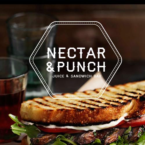 Create a funky urban logo for a Juice & Sandwich bar concept!