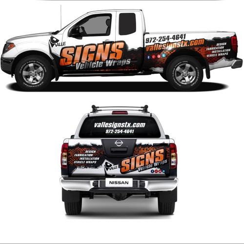 Signs Vehicle Wraps