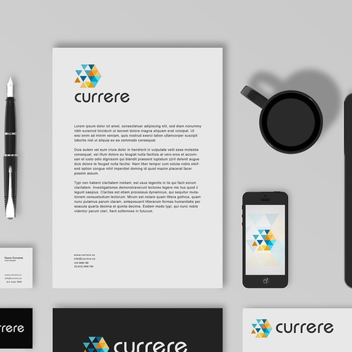 Abstract logo currere !
