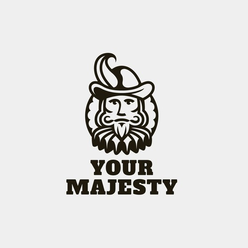 Bold logo for Your Majesty