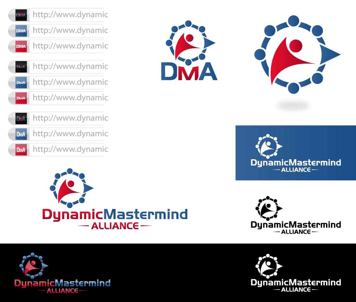Create the next logo for Dynamic Mastermind Alliance