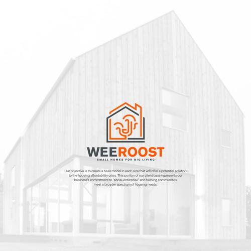 Line art mark for weeRoost