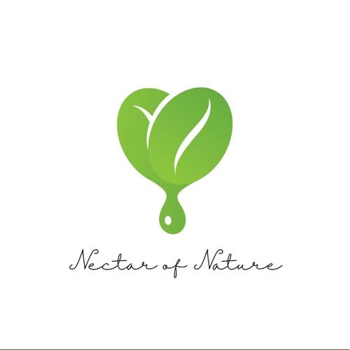 Logo Design for Nectar of Nature
