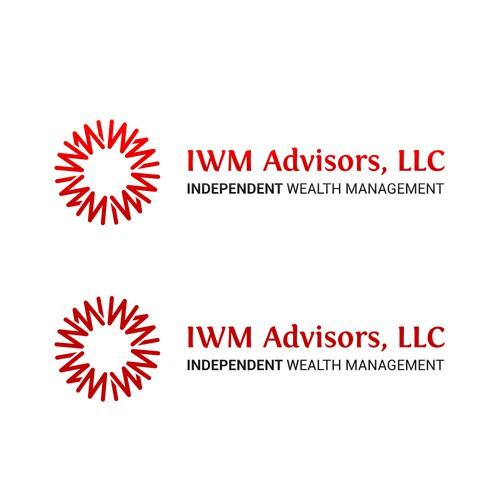 Classy Logo for IWM Advisors, LLC