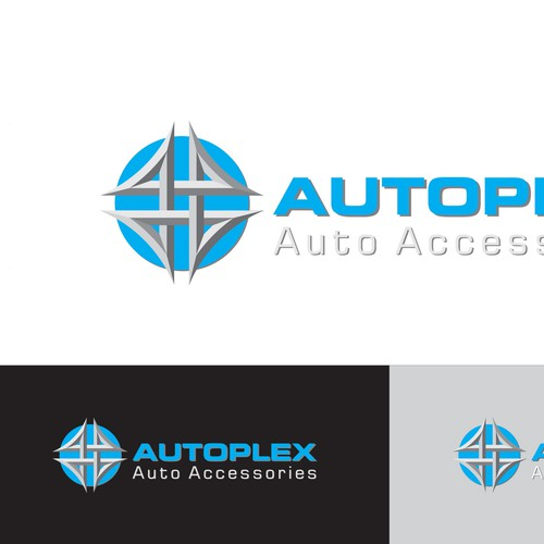 Create a emblem or logo that would identify Autoplex
