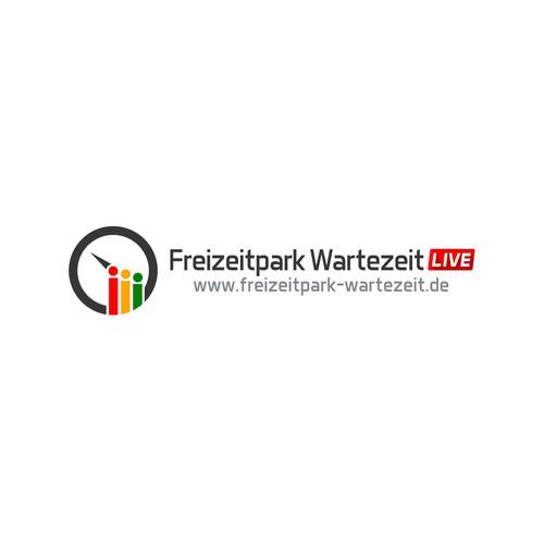 Logotype Freizeitpark Wartezeit LIVE