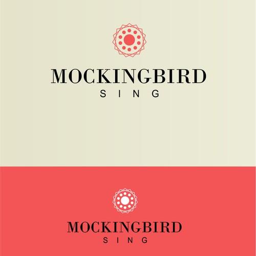 Mockingbird Sing Boutique Logo Design