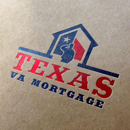 Logo concept for Texas VA Mortgage.