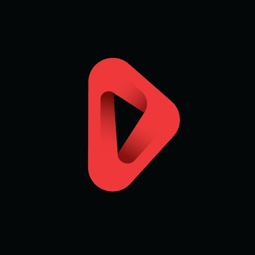 Abstract, Penrose triangle inspired logo for data storage systems development company