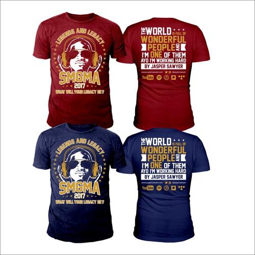 Musical Artist/School Event T-Shirt Design