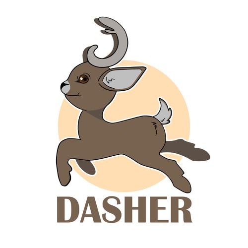Dasher Mascot Concept