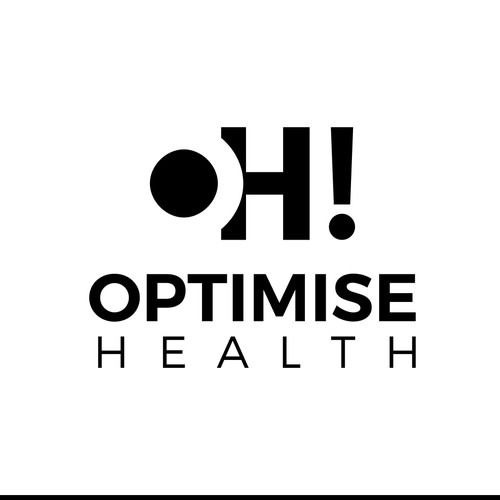Simple concept for Optimise Health Logo