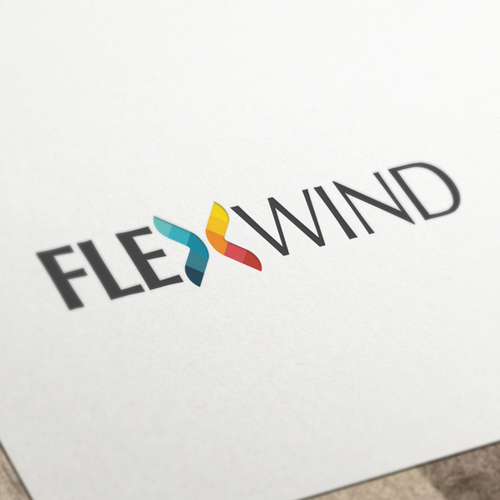 Logo Design for Flexwind, a technology solutions company