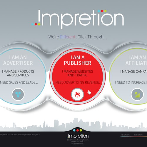 Website for Impretion - Mock up included - Guaranteed.