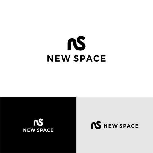 Bold logo concept for NEW SPACE