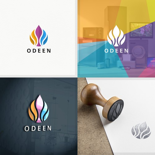 Logo for a home accessories brand.
