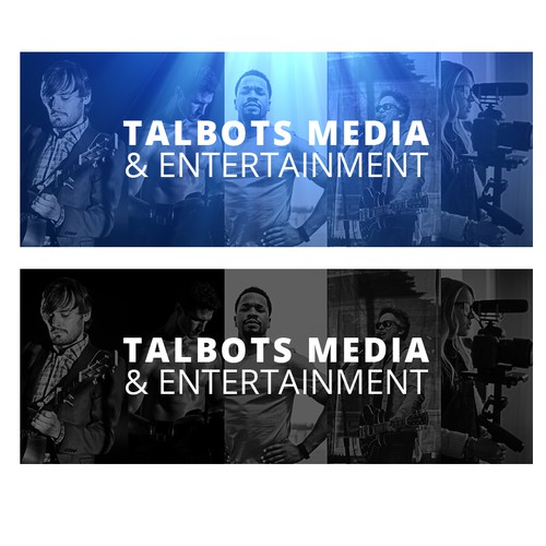 Facebook cover for media company