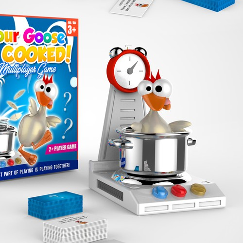 """Your Goose Is Cooked"" family game."