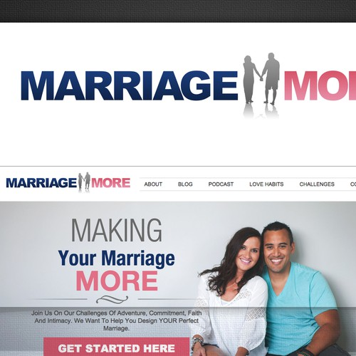 Create a logo that defines our brand: Marriage More.
