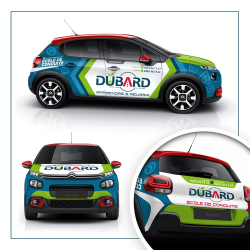 BUBARD Vehicle Wrap