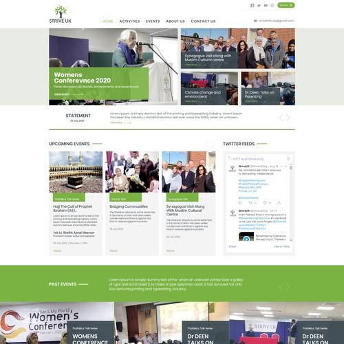 Website Design for STRIVEUK