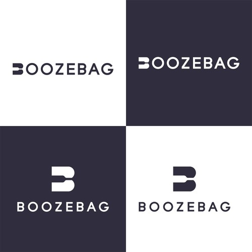 Logo concept for BOOZEBAG