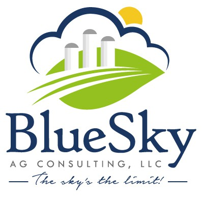 Create an eyecatching image for an agricultural/accounting hybrid company.