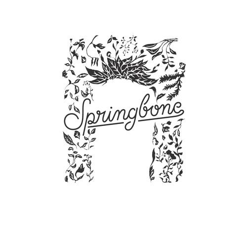 Springbone Restaurant Sign