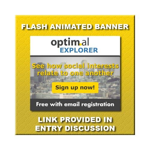 banner ad for Optimal